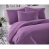 Saténové francúzske obliečky LUXURY COLLECTION fialové 1 + 2, 220x200, 70x90cm