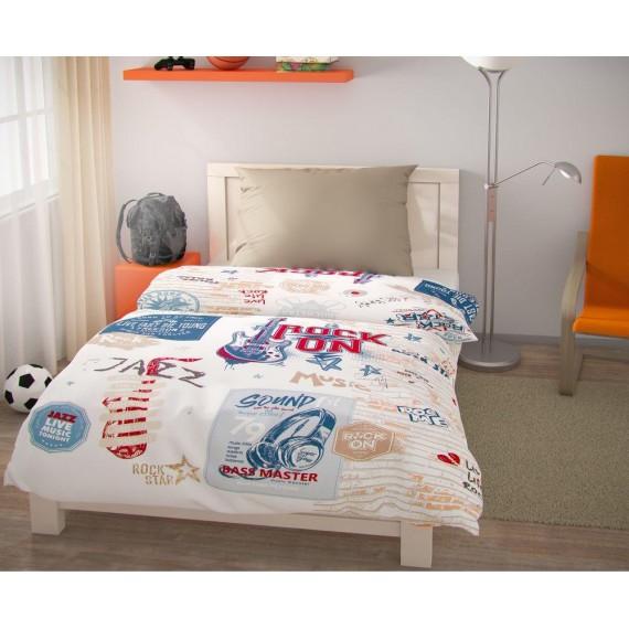 Predĺžené posteľné obliečky pre mladých 140x220, 70x90cm Freedom