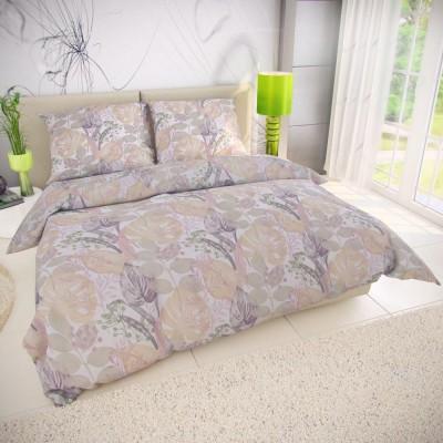 Klasické posteľné bavlnené obliečky 140x200, 70x90cm ROSEMARY zelená