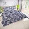Klasické posteľné bavlnené obliečky 140x200, 70x90cm PUMA sivá