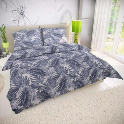Prehoz na posteľ modrotlačový patchwork - 140x200