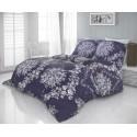 Saténové francúzske obliečky LUXURY COLLECTION 1+2, 240x200, 70x90cm MELROSE fialové