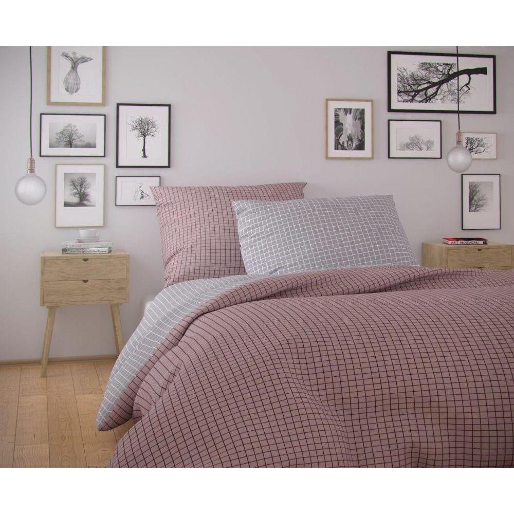 Francúzske predĺžené bavlnené obliečky NORDIC COLLECTION 240x220, 70x90cm KARE