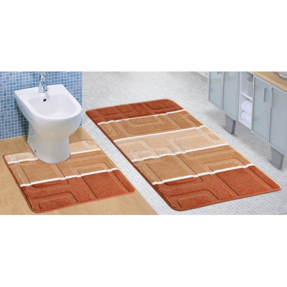 Kúpeľňová a WC predložka terra panel