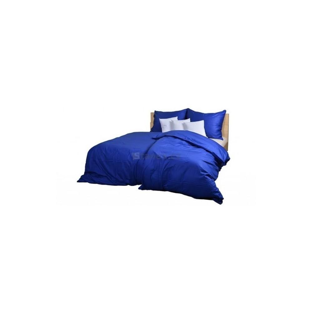 Ložní povlečení bavlněný satén tmavě modrý (LS154) Povlak na polštářek 40x40 - (LS154)