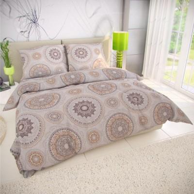 Klasické posteľné bavlnené obliečky 140x200, 70x90cm MANILA béžová