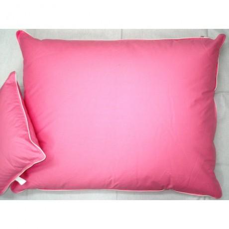Vankúš perie 70x90cm ružový