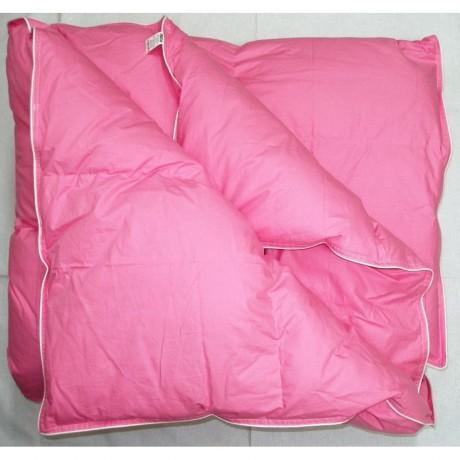 Paplón perie 140x200cm ružový